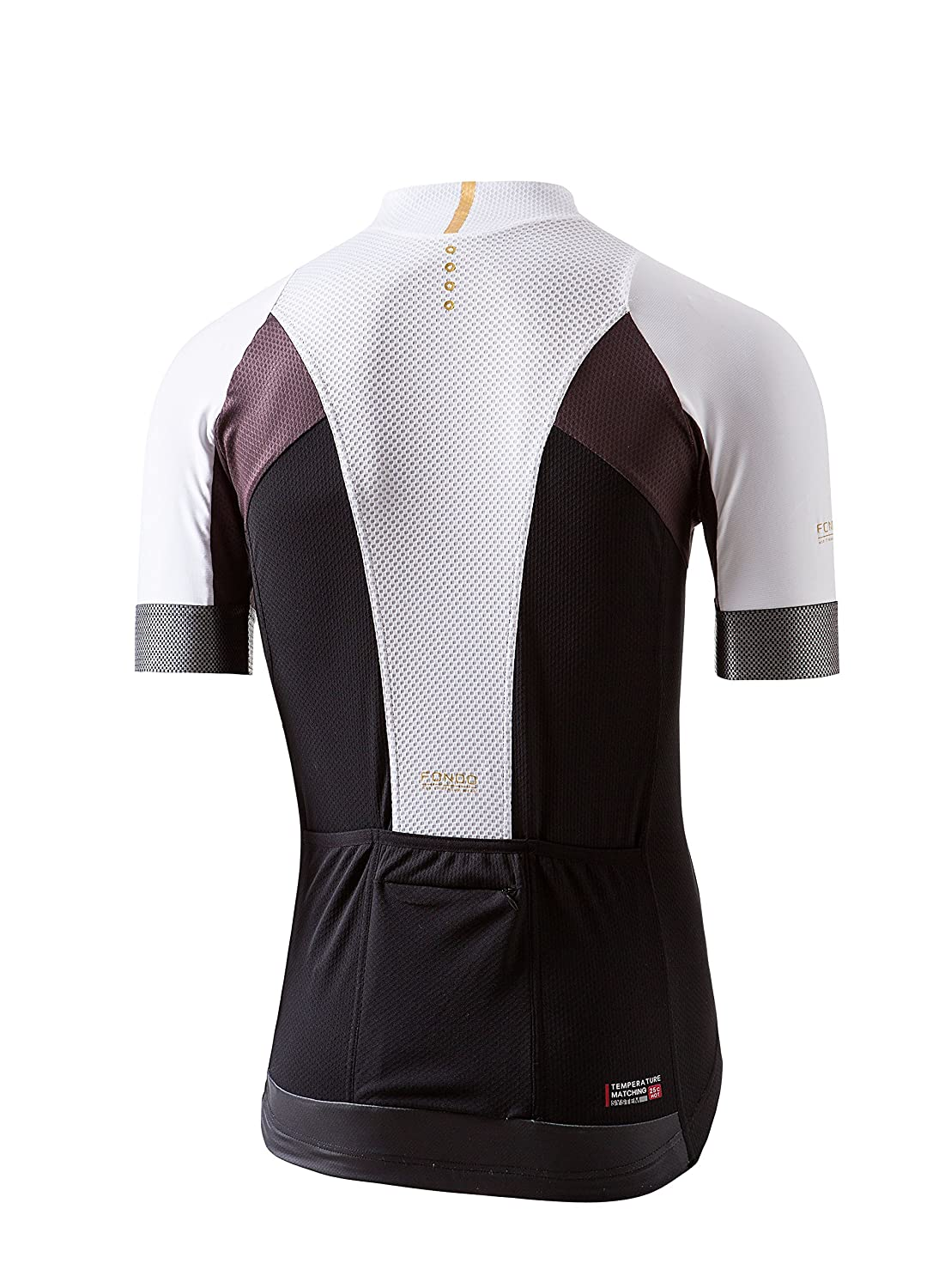 NSR Riding Mens Fondo S//S Jersey XS White