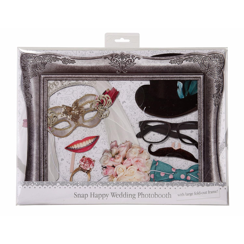 Talking Tables accesorios para una cabina de fotos Something In The Air : gafas, corbatas, anillos, flores y frases divertidas. Para fiestas, bodas ...