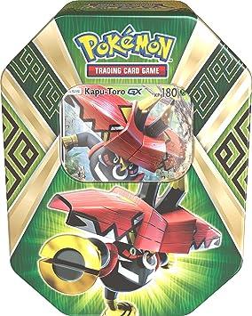 Pokèmon Company 25911 - Juego Pokémon en caja metálica PKM Tin 66 Kapu-Toro GX: Amazon.es: Juguetes y juegos