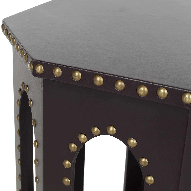 Amazon.com: Safavieh Home Collection Nara Grey End Table: Kitchen U0026 Dining