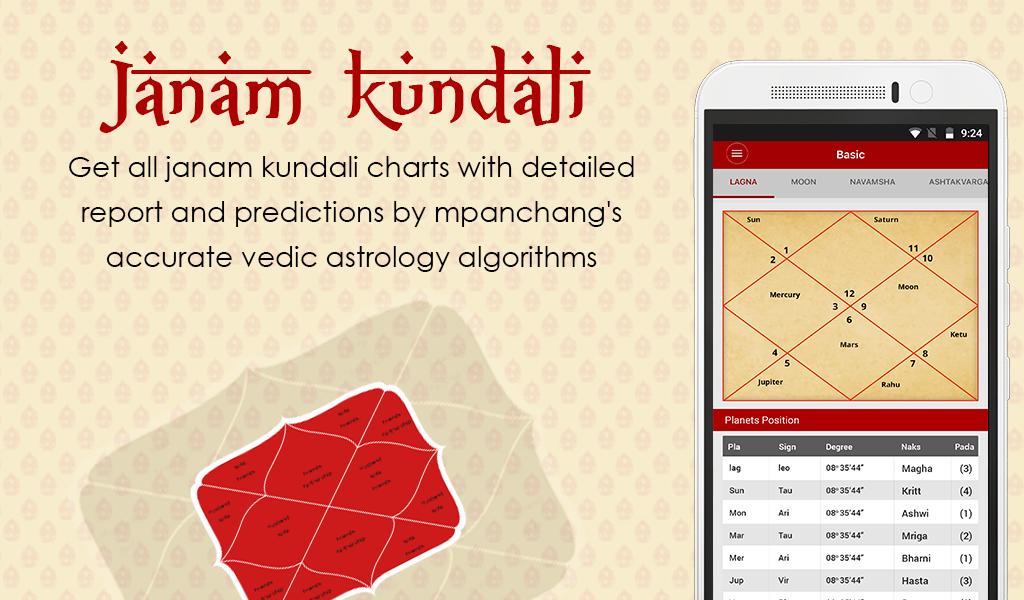 Amazon Mpanchang Hindu Calendar Kundli Matching Kundali