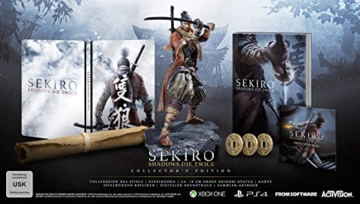 ohne Spiel Neu Sekiro Shadows Die Twice Steelbook