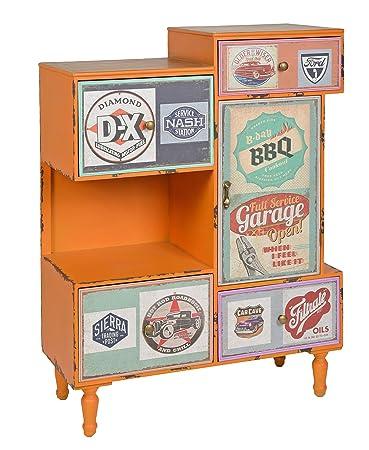 Vintage style schrank  ts-ideen Kommode Regal Schrank Minibar Ablage Vintage Antik ...