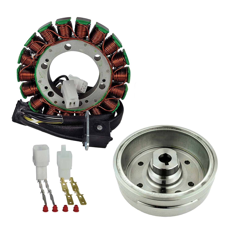 Amazon.com: Kit Stator + Improved Magneto Flywheel For Suzuki LTA 400  Eiger/LTF 400 Eiger Arctic Cat 375 400 2002 2003 2004 2005 2006 2007 2008:  Automotive