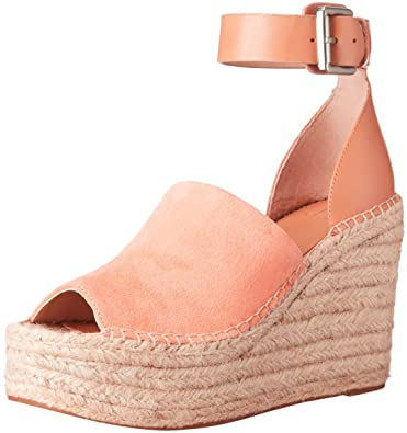 c206e5a001c Marc Fisher Womens Adalyn Suede Peep Toe Casual