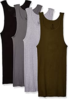 52a43520dbbfa9 Hanes Men s 3-Pack A-Shirt at Amazon Men s Clothing store