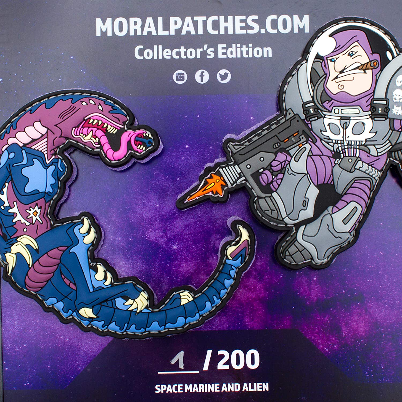 Alien Patch by HIWEZ TACOPSGEAR Space Force Marine vs