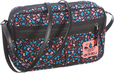 Adidas OriginalsST Mini Airline - Bolso de Hombro Mujer, Color Negro, Talla: Amazon.es: Zapatos y complementos