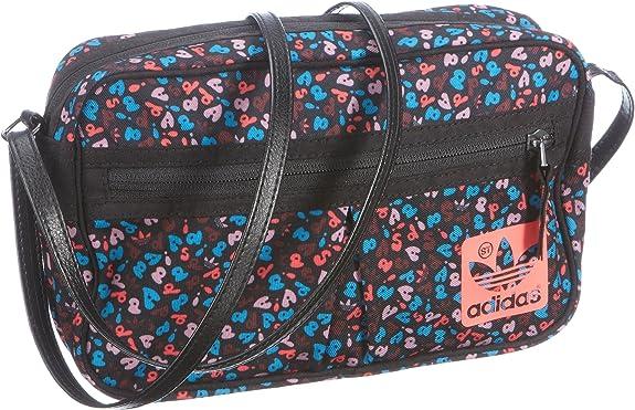 Adidas OriginalsST Mini Airline - Bolso de Hombro Mujer, Color Negro, Talla: Amazon.es: Zapatos y complementos