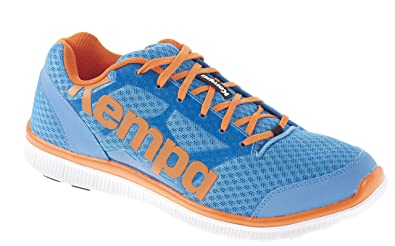 Kempa Herren K-Float Handballschuhe, Mehrfarbig (kempablue/Orange), 44 EU