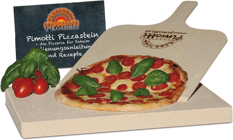 Pizzastein- / Brotbackbackstein Set