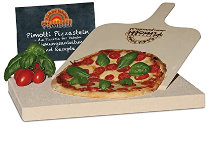 Pimotti 202_002 - Piedra refractaria para Pizza (3 cm de ...