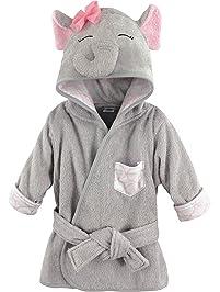 77c517ee15 Hudson Baby Animal Face Hooded Bathrobe