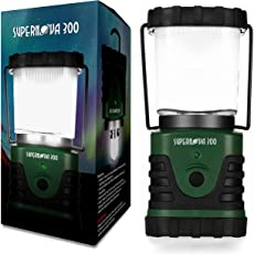 Supernova Ultra Brillante Camping & Emergencia Linterna LED
