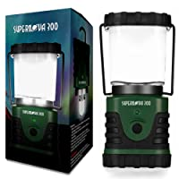 Supernova Ultra Bright LED Camping and Emergency Lantern - Ultimate Portable and Light Weight Camping, Hiking, Emergency, Long Lasting Survival Lantern