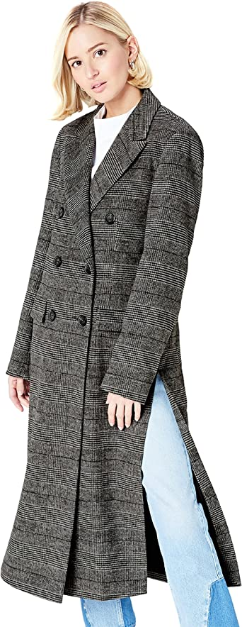 Womens Coat in Double-Breasted Fit find Brand