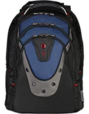 """Wenger 600638 Ibex 17"""" Laptop Backpack, Blue, 47 Centimeters"""
