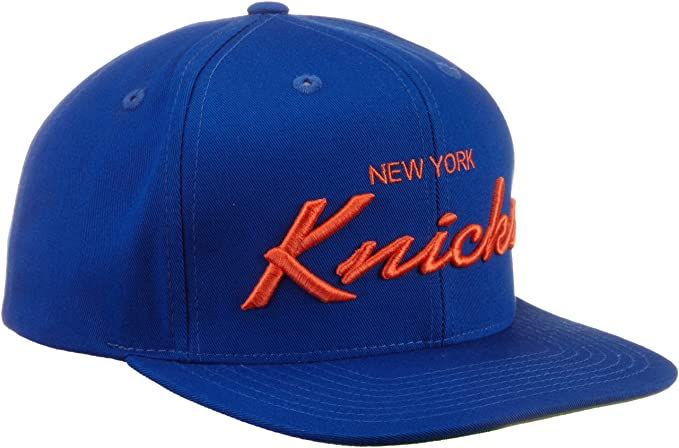 68f75e426e3049 Amazon.com : NBA New York Knicks Anniversary Snapback Draft Cap, One ...