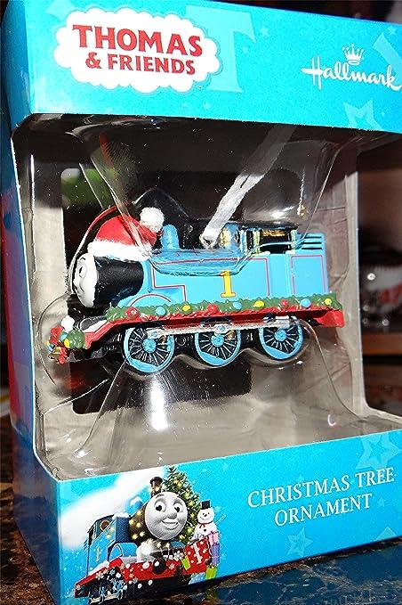 Hallmark Thomas & Friends Train Christmas Tree Ornament, Thomas the Tank  Engine Train Ornament - Amazon.com: Hallmark Thomas & Friends Train Christmas Tree Ornament