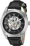 Maserati - R8871612001 - Montre Homme - Automatique - Analogique - Bracelet Cuir Noir