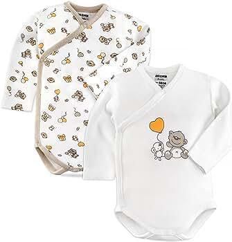 Jacky - Bodies para bebé de manga larga - 2 Ud. - 100% algodón ...