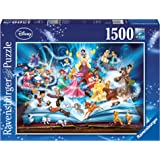 Ravensburger 163182 Disney Magical Storybook 1500pc,Adult Puzzles
