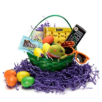 Amazoncom Dinosaur Theme Easter Basket For Kids Complete Ready