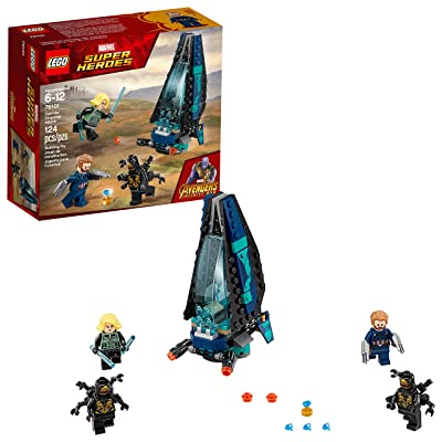 LEGO Marvel Super Heroes Avengers: Infinity War Outrider Dropship Attack 76101 Building Kit (124 Piece): Toys & Games