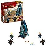 LEGO Super Heroes Ataque do Outrider ao Cargueiro 76101