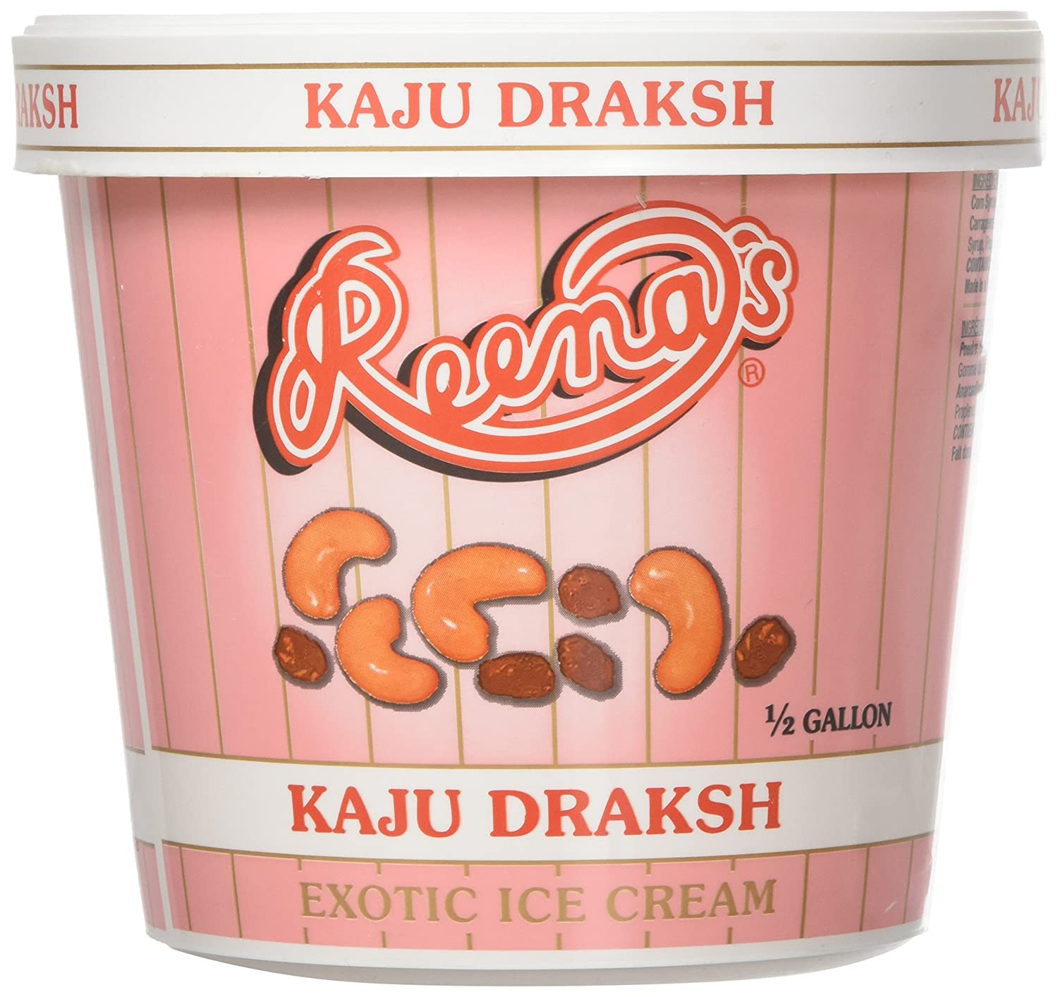 Deep, Kaju Draksh Ice Cream, 1/2 Gallon(gl): Amazon.com: Grocery & Gourmet Food