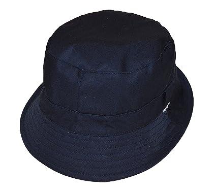 41b022794f2 Aquascutum Reversible Bucket Hat - AAFB17SACUM- Navy  Amazon.co.uk  Clothing