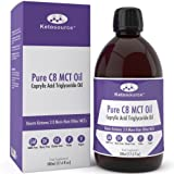 Premium C8 MCT Oil | Boosts Ketones 3X More Than Other MCTs | Highest Purity of C8 MCT Available with 99.6% Purity | Pure Caprylic Acid Triglycerides | Paleo & Vegan Friendly | Gluten Free | BPA-Free 500ml Bottle | Ketosource®