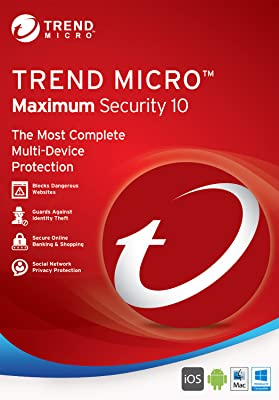 Trend Micro Maximum Security 10 (3-Users)Twister Parent