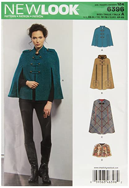 Amazon New Look Sewing Pattern UN60A Autumn Collection Misses Fascinating Sewing Patterns Com