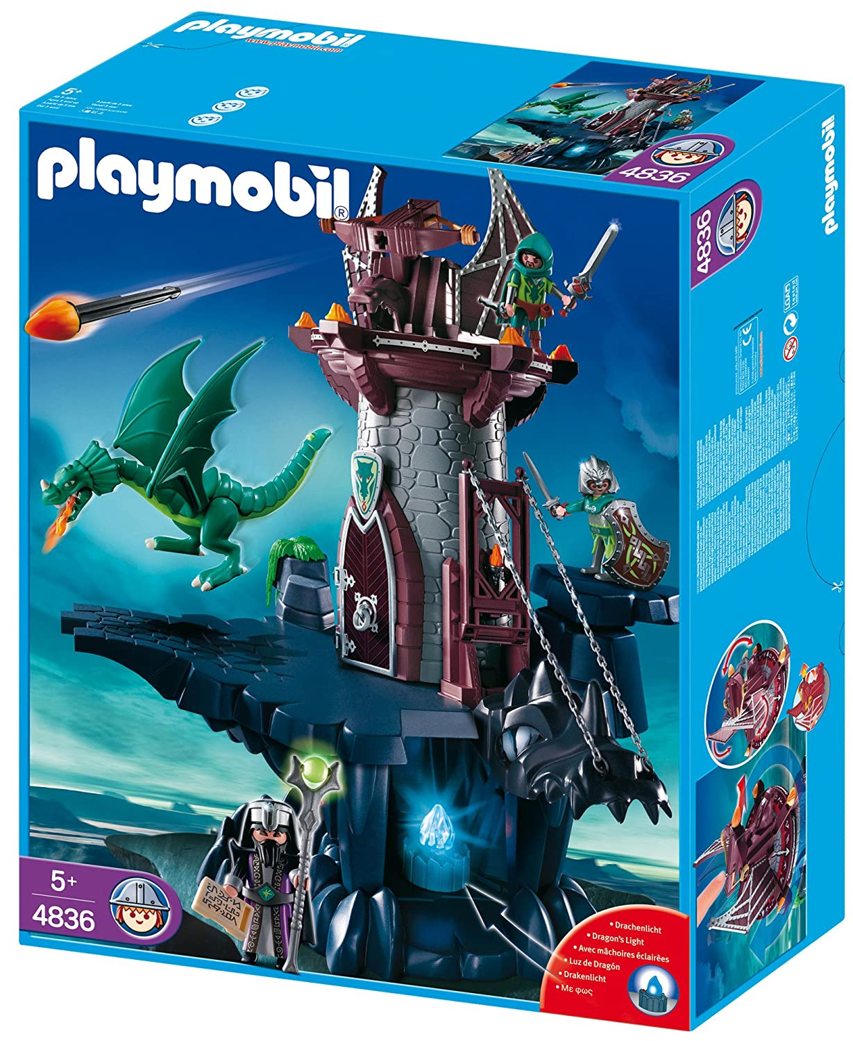 playmobil chateau dragon. Black Bedroom Furniture Sets. Home Design Ideas