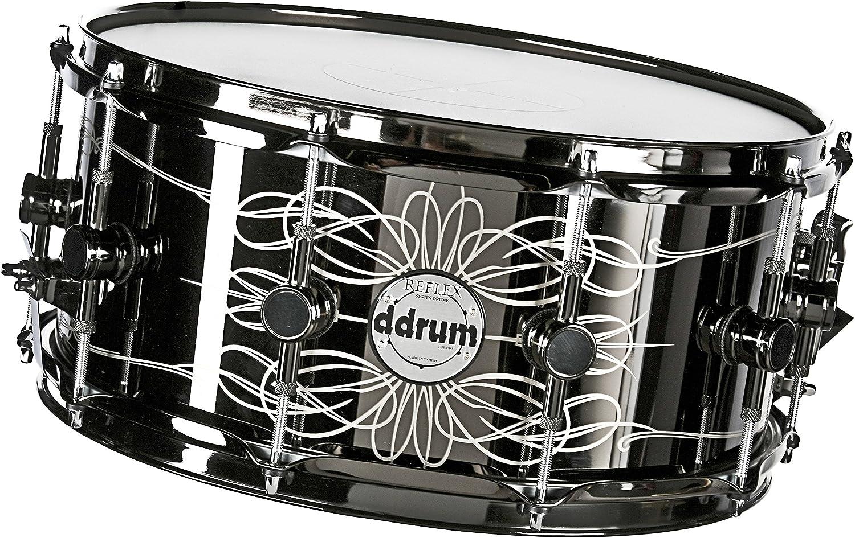 "Ddrum Reflex Tattooed Lady 14/"" Dia X 6.5/"" Deep Snare Drum//Limited Edition!//NEW"