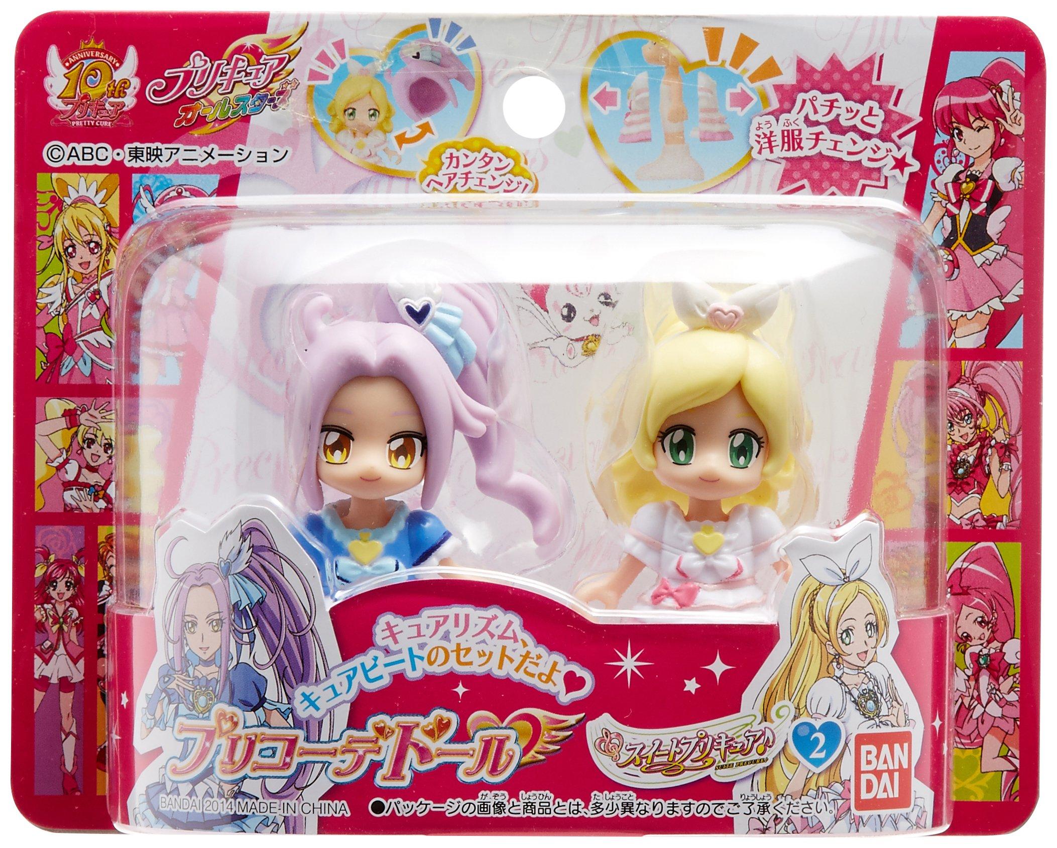 Pretty Cure All Stars pre-coordinates Dole Suite Pretty Cure E2 by Bandai (Image #1)