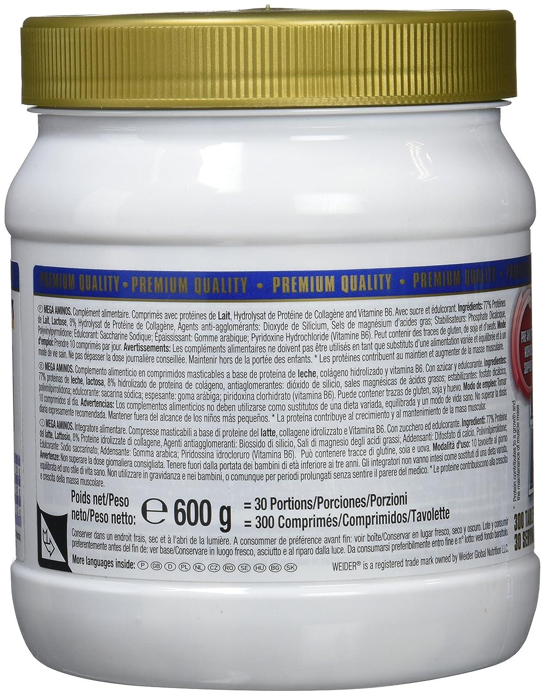 Weider Total Rush Naranja + BCAA 811 Complemento Alimenticio - 1 Pack: Amazon.es: Salud y cuidado personal