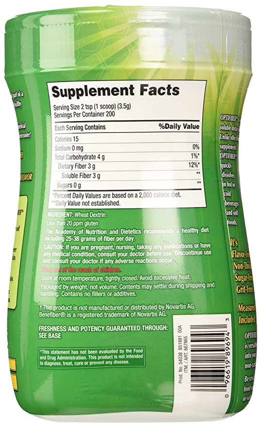 Kirkland Signature OPTIFIBER, 25.6 Ounces: Amazon.es: Salud y cuidado personal