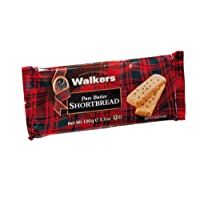 Walkers Pure Butter Thin Shortbread Fingers, 100g