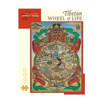 Tibetan Wheel of Life Puzzle: 1000 Pcs