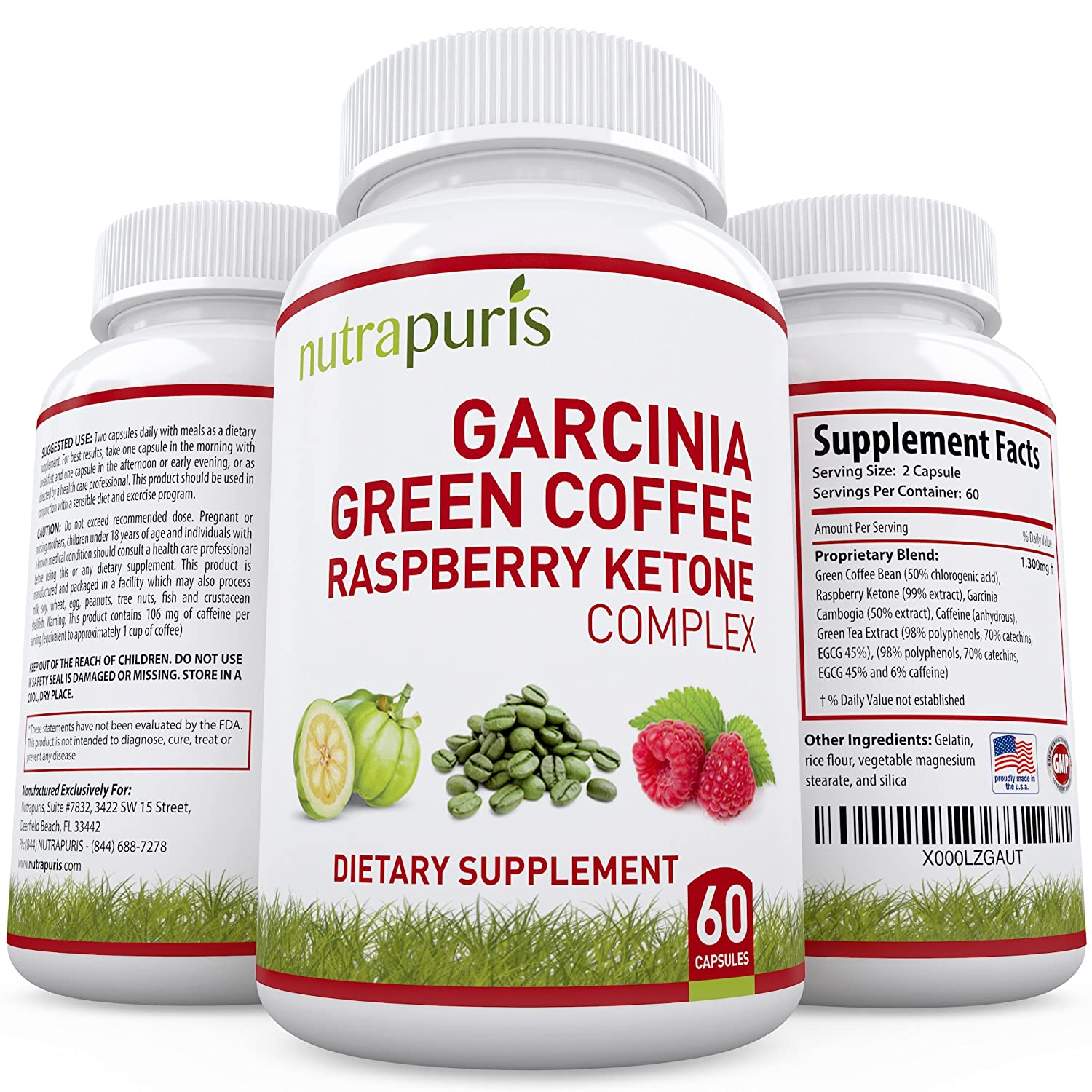 advanced trim green coffee and garcinia cambogia cleanse combo diet