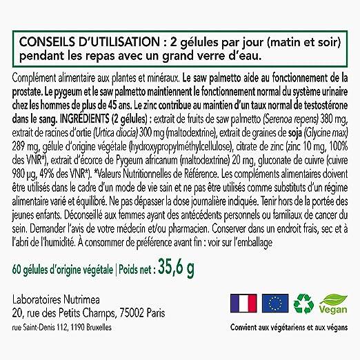 ○ prostasur ○ protección de la próstata y confort urinario de el hombre ○ ecológicos 3 activos ○ creación francesa ○ SATISFAIT OU rembourse: Amazon.es: ...