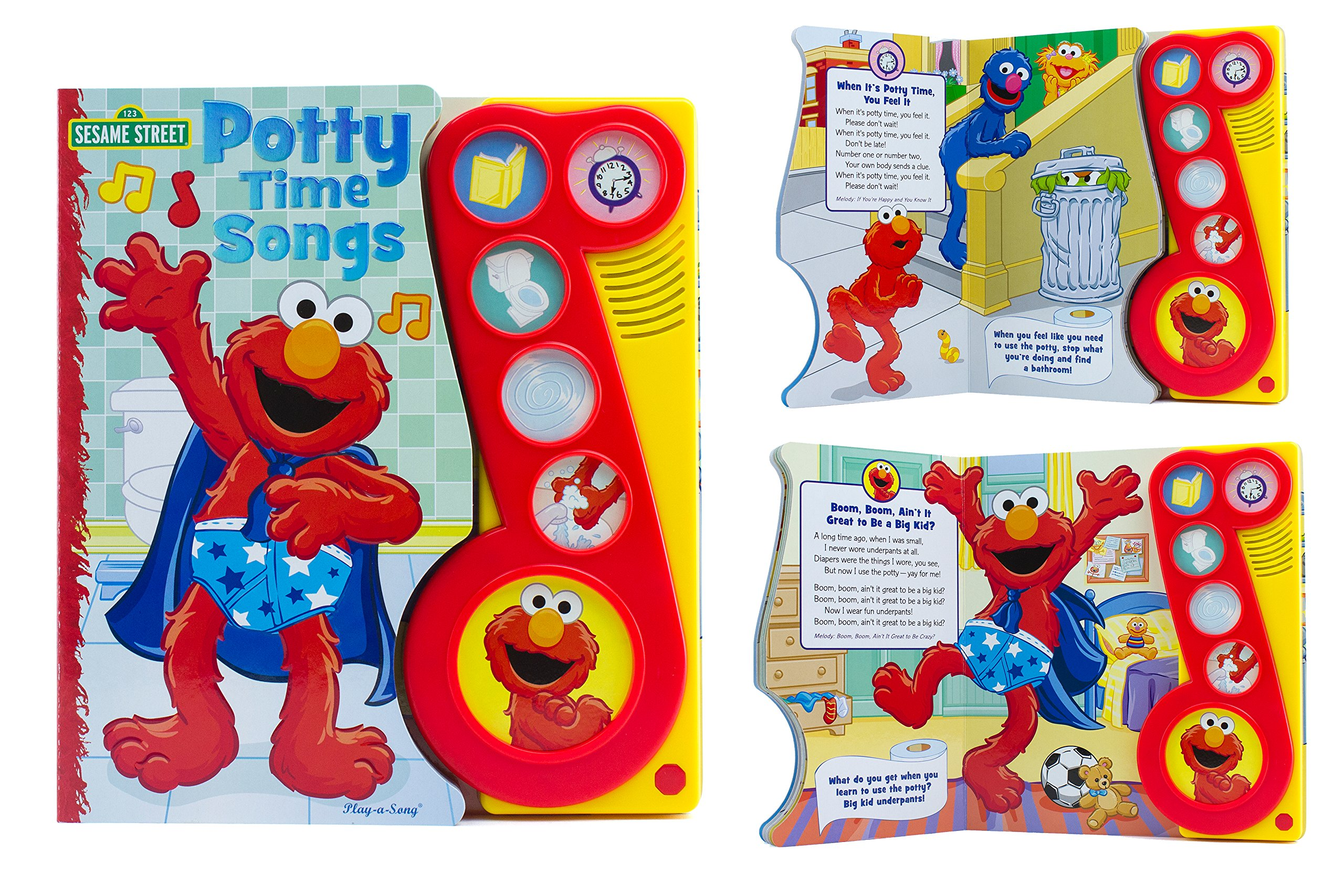 Little Music Button Potty Songs product image