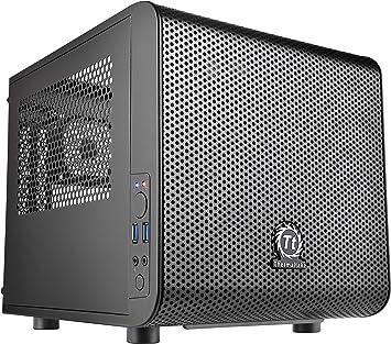 Thermaltake Core V1 Cubo Negro carcasa de ordenador - Caja de ...