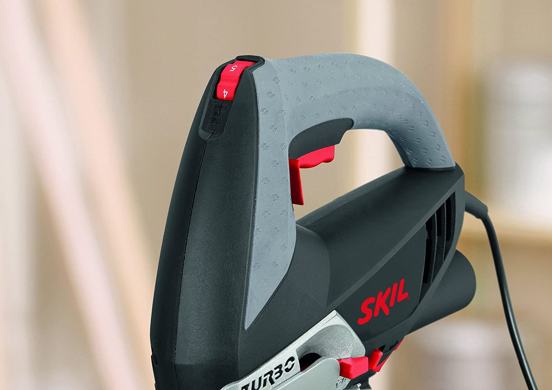 Negro Skil F0154381AA Sierra de calar 500W 4381AA 500 W Gris 240 V