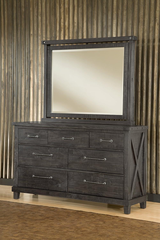amazoncom modus furniture 7yc982 yosemite solid wood dresser cafe kitchen u0026 dining