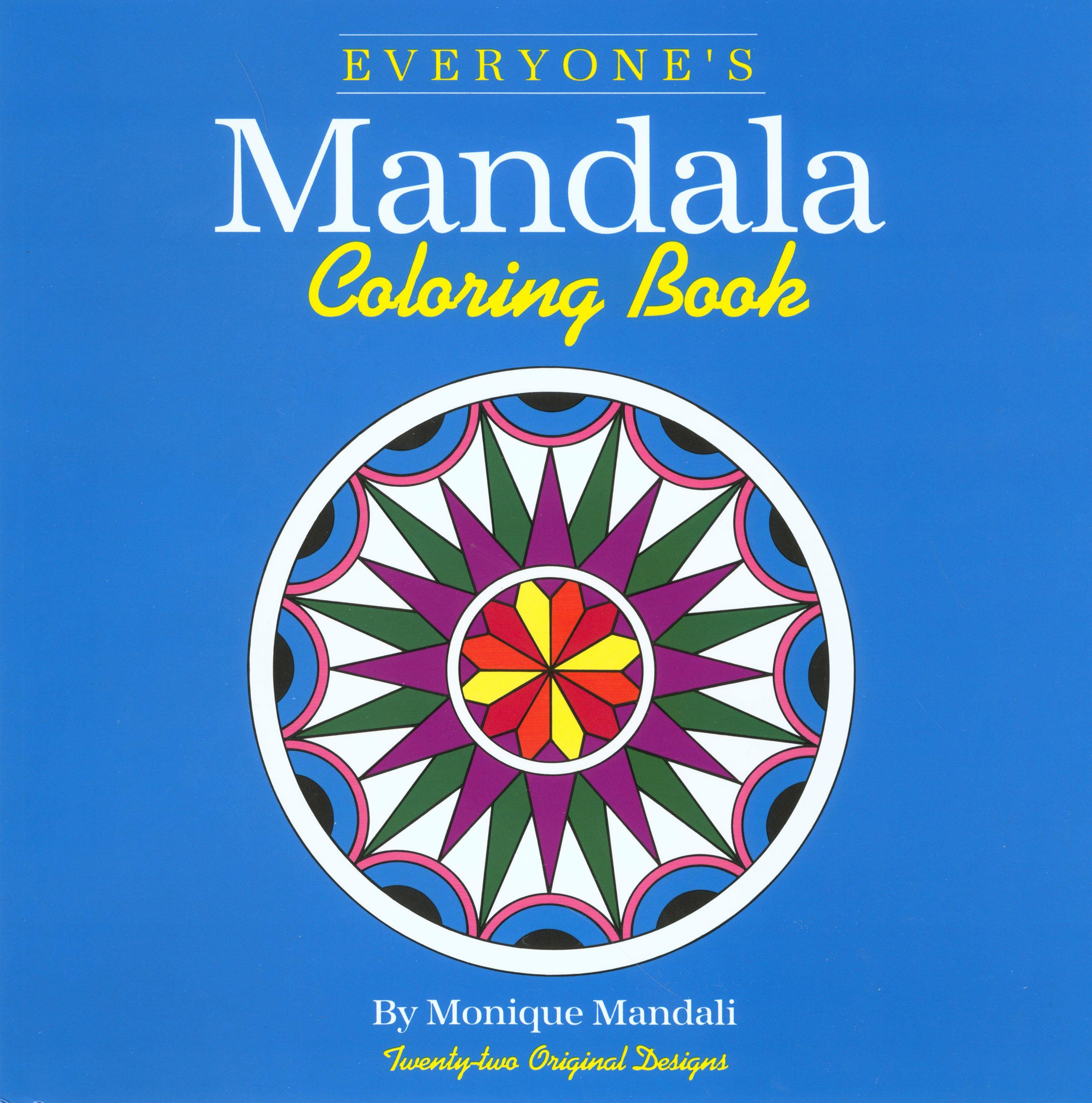 79 Mandala Coloring Book For Seniors Easy Mandalas In Large Print Adults With Low Vision