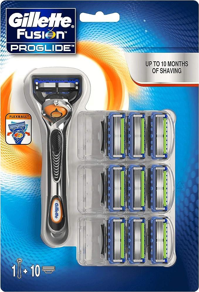 Gillette Fusion ProGlide - Razor with FlexBall (10 refills),Procter & Gamble,108034974
