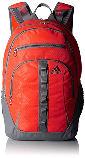 Amazon.com | adidas Unisex Prime II Backpack Solar Red/Solar Orange/Grey  Backpack | Casual Daypacks